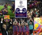 FC Barcelona kvalifikaci pro finále Ligy mistrů UEFA 2010-11
