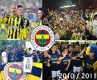 Fenerbahçe SK, mistr turecké fotbalové ligy, Super Lig 2010-2011