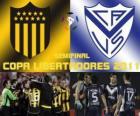 Peñarol Montevideo - Velez Sarsfield. Semifinále Copa Libertadores 2011