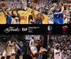 NBA finále 2011, Game 2, Dallas Mavericks 95 - Miami Heat 93