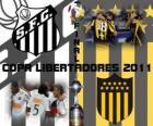 Santos FC - Peñarol Montevideo. Konečné Copa Libertadores 2011