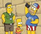 Simpson rodinné návštěvy Jeruzaléma