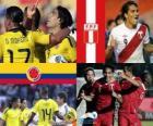 Kolumbie - Peru, čtvrtfinále, Argentina 2011