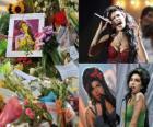 Amy Winehouse byl anglický písničkář, známý pro jeho mix různých žánrů