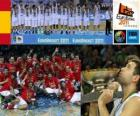 Španělsko, šampion EuroBasket 2011