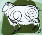 Kozy, znamení Kozy, kozy rok v čínské astrologii. Osmý Znamení čínského kalendáře