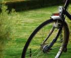 Přední kolo na kole