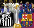 Santos FC - FC Barcelona. Konečné Mistrovství světa ve fotbale klubů Japonsko 2011