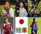 FIFA žen světového hráče roku 2011 výherce Homare Sawa
