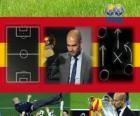 Trenér roku 2011 FIFA pro mužské fotbalové vítěze Pep Guardiola