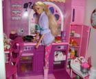 Barbie v kuchyni