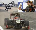 Romain Grosjean - Lotus - Grand Prix Bahrajn (2012) (3. místo)