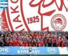 Olympiakos Pireus, Super League 2011-2012 šampión, řecké fotbalové ligy