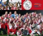 AJAX Amsterdam, vítěz Eredivisie 2011-2012, nizozemský fotbalové ligy