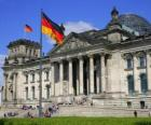Reichstagu, Frankfurt, Německo