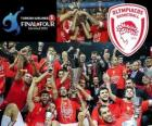 Olympiakos Pireus, mistr Euroleague Basketball 2012
