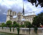 Katedrála Notre-Dame, Paříž, Francie