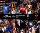 NBA finále 2012, 4 th hra, Oklahoma City Thunder 98 - Miami tepla 104