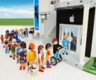 Dílny Apple Playmobil