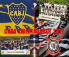 Boca Juniors vs Corinthians. Copa Libertadores Finále 2012
