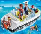 Playmobil motorový člun