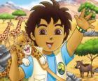 Diego a Mládě Jaguár pomáhat zvířatům v nebezpečí v sérii Go, Diego, Go!