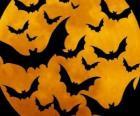 Netopýři na oslavu Halloweenu