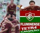 Fluminense fotbalový klub šampion v roce 2012 brazilský šampionát