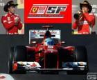 Fernando Alonso - Ferrari - Grand Prix Spojených států 2012, 3 klasifikované.