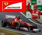 Felipe Massa - Ferrari - Grand Prix Brazílie 2012, 3 klasifikované.