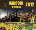 Club Atlético Peñarol šampion Torneo Apertura 2012, Uruguay