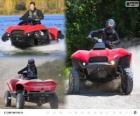 Gibbs Quadski je prototyp quad/ATV obojživelné