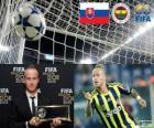 FIFA Puskás Award 2012 pro Miroslav Stoch