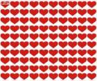 100 srdce, sto srdcí na oslavu Valentýna, den Svatého Valentýna