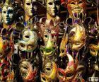 Klasický karnevalové masky