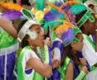 Děti v karnevalu