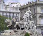 Fontány Cibeles, Madrid, Španělsko