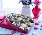 Srdce čokolády