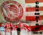 Olympiakos Pireus, Super League 2012-2013 šampión