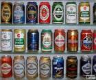 Plechovky od piva