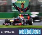 Sebastian Vettel - Red Bull - Grand Prix Austrálie 2013, 3 klasifikované
