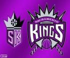 Logo Sacramento Kings, NBA tým. Pacifická Divize, Západní konference