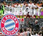 F. C. Bayern Mnichov, mistr Bundesligy 2012-13