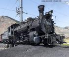 Stará parní lokomotiva
