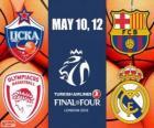 Final Four 2013 Londýn basketbal Euroleague