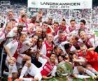 AJAX Amsterdam, vítěz Eredivisie 2012-2013, nizozemský fotbalové ligy