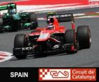 Max Chilton - Marussia - Circuit de Catalunya, Barcelona, 2013