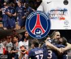 Paris Saint Germain, PSG, Ligue 1 2012-2013 šampion, Francie fotbalové ligy