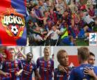 CSKA Moskva, vítězka ruské fotbalové ligy, Ruská Premier Liga 2012-2013