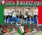 Legia Warszawa, vítězka Ekstraklasa 2012-2013, Polsko fotbalové ligy